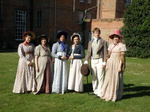 Cast at Glemham Hall, Sanditon the play