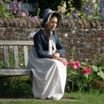 Filming at Chawton Cottage, Sanditon the Play